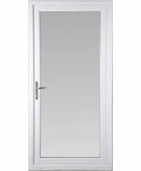 Glass UPVC Bathroom Door
