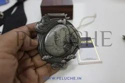 Peluche Bronze Medals Or Coins, Shape: Round, for Prize