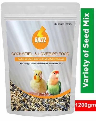 Seed Mix Bird Food Boltz Food For Cockatiel & Lovebird