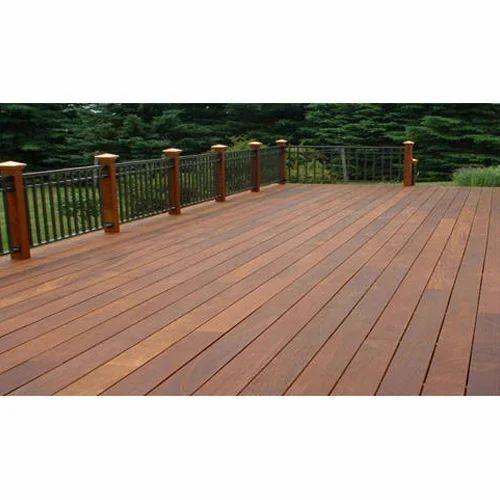 Brown Ipe Wood Decking Dizzart Flooring Private Limited Id