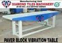 DTM Paver Block Vibrating Table