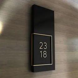 Room Number Plate ( Profile )
