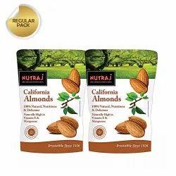 Nutraj California Almonds 250G (Pack Of 2)