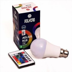 7W Polycab Multicolour Decorative LED Bulb