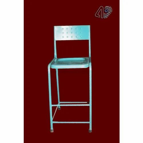 Abhay Products Polished Metal Furniture Chair