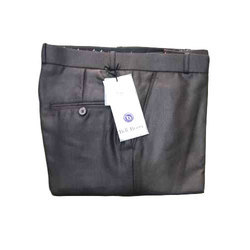 Bell Berry Mens Casual Black Trouser, Size: 28-40