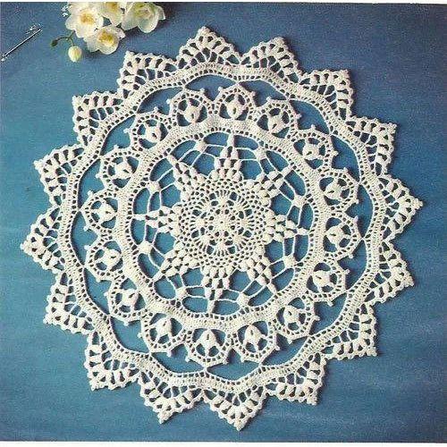 White Fancy Crochet Dream Catcher Rs 100 Piece Shain Sha