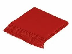 Red Plain Blanket