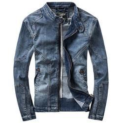 Blue Guts And Glory Men's Jeans Jacket