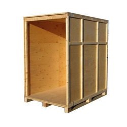 Brown Engine Packaging Wooden Boxes, 250-500 Kg