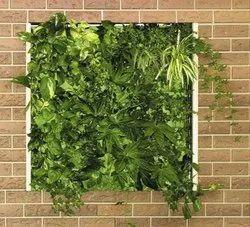 Green Plastic Home Designer Artificial Plants