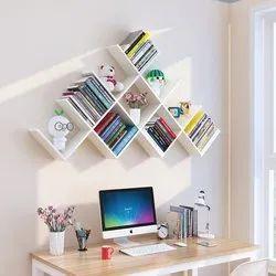 Hexagon Book Racks