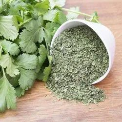 Light Green A Grade Dehydrated Coriander Leaves /Flakes Dhaniya Patta, PP Bag, Packaging Size: 10 Kg