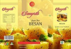 Printed Besan Packaging Pouch