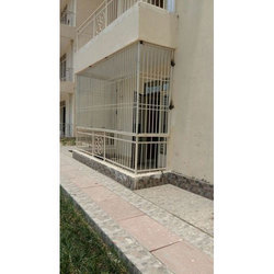 Iron Balcony Safety Grill