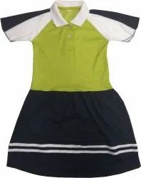School T-shirt with Skirt