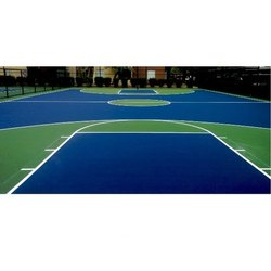 Eco Elastic Synthetic Rubber Sport Court Surfaces