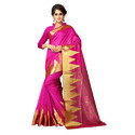 Banarasi Jacquard Saree Cotton Base