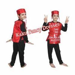 Kids Alcohol Fancy Costume