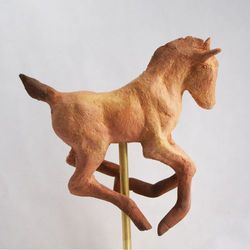 Horse Embossed Statue