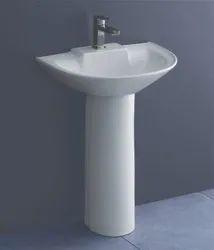 Pedestal Ceramic Kag Capitevo Wash Basin
