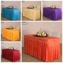 Counter Table Frill Cover Buffet Table Covers