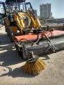 JCB Attachment Hydraulic Road Sweeper Machine