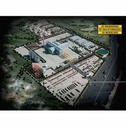 Industry 3D Landscape Design