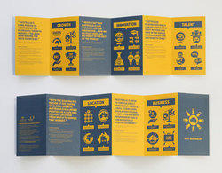 pamphlets design service in india