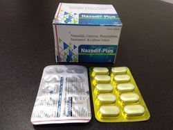 Nimesulide Cetrizine Phenylephrine Paracetamol And Caffeine Tablets