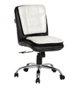 Black And White Workstation Chair