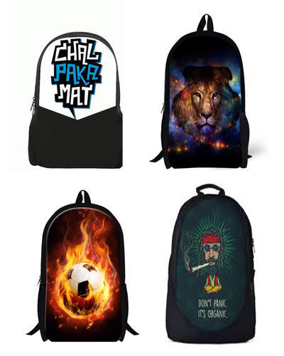 26369911f46474 Personalized Backpacks at Rs 450  piece