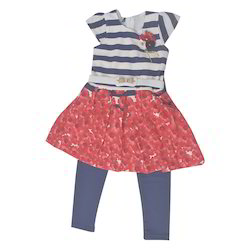 Multicolor Baby Girl Leggings Set