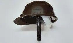 Safety Helmet Nape Strap Brown