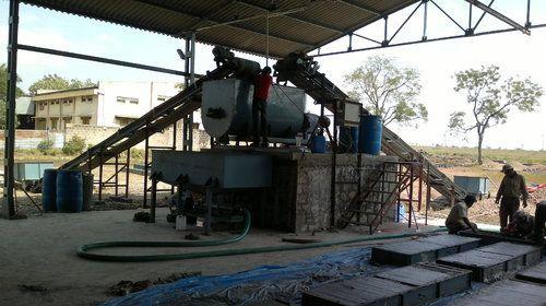 Nanolite Reverse Drum Mixer Foam Concrete Plant, For Brick Making