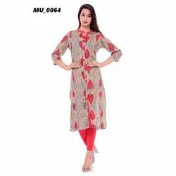 Casual Wear Cotton Designer Kurti