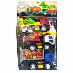 Multicolor Plastic Toy Truck, For Playing Kids,Play School