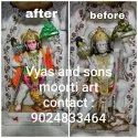Marble Statue Painting Services