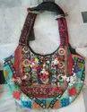 Assorted Embroidered Indian Cotton Banjara Sholuder Bag