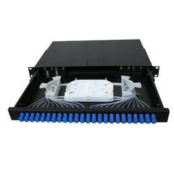 24 Port Fiber Patch Panel SC SC SIMPLEX