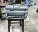 Metal Gray Perkins Brailler
