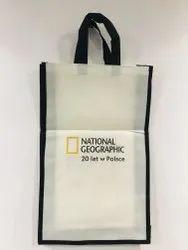 Multicolor Printed Non Wove Tote Bag