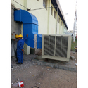 Industrial Air Cooling Duct System