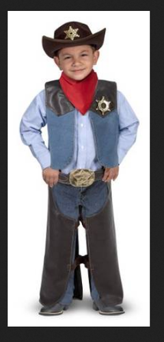02d44bea5 Melissa And Doug Cowboy Role Play Costume at Rs 3126  piece