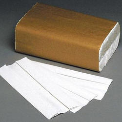 White Plain Folded Paper Towel
