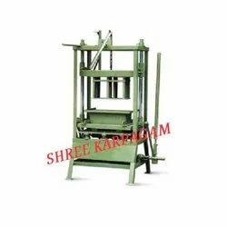 Hand Operated Double Block Type Machine