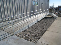 Hot Dip Galvanized Handrails