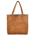 Yelloe Tan Synthetic Leather Shoulder Bag In Bag
