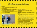 Confine Space Safety Training