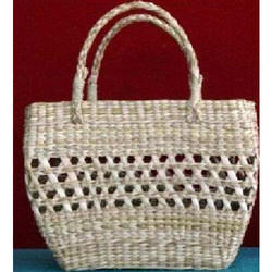 Bamboo Apple Design And U-Shape Handle Bag